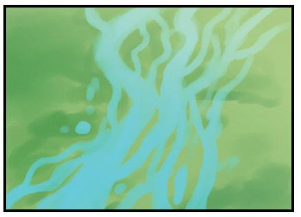 অনেক নদীর গতিপথ একাধিক চ্যানেলে বিভক্ত থাকে। সেই চ্যানেলগুলো ম–ল নদীর সঙ্গে জালিকার মতো বিস্তৃত থাকে। এ ধরনের নদীকে ব্রেডেড নদী বলা হয়।