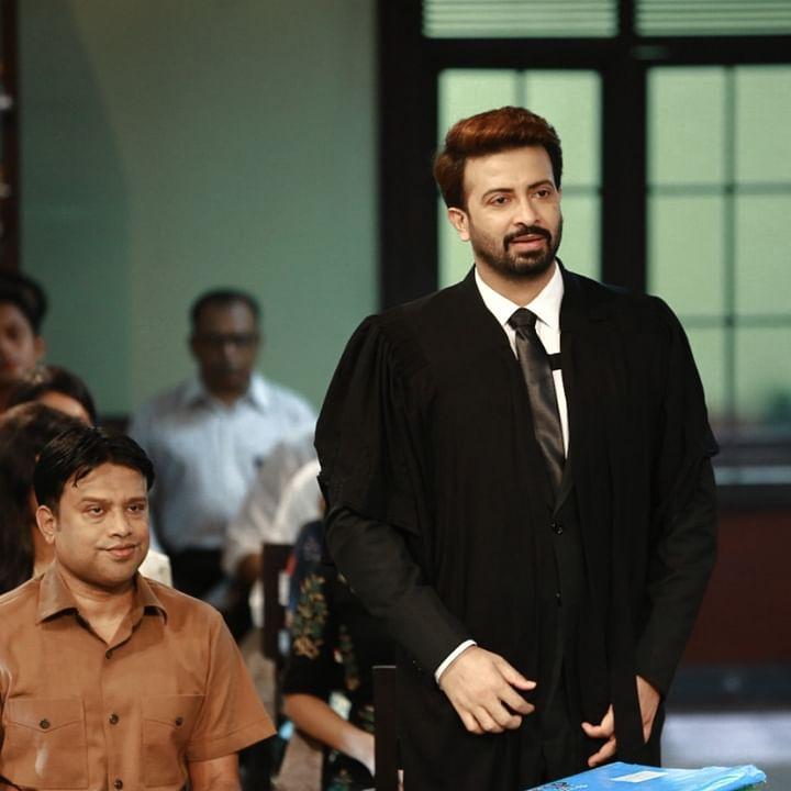 'নবাব এলএলবি' ছবিতে শাহেদ আলী ও শাকিব খান
