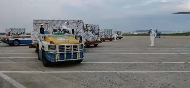 A total of 20 lakh doses of synoform vaccine for 10 lakh on two separate flights of Bangladesh Biman arrived in the country yesterday.