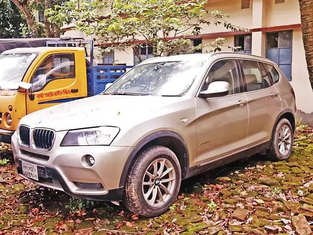 BMW eized from Barkat and Rubel's house