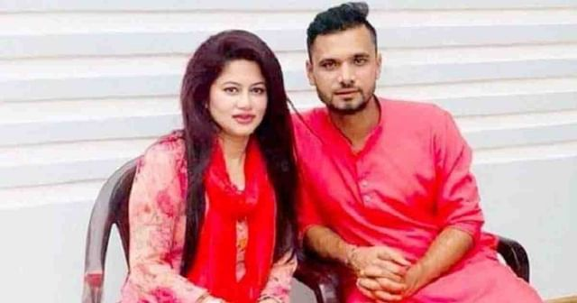 Sumona Haque and Mashrafe Bin Mortaza
