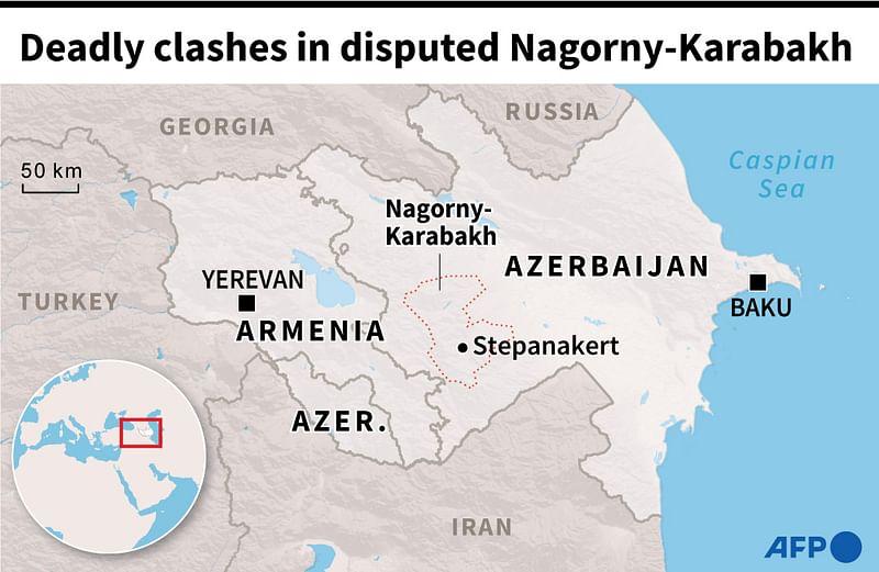 Picture of: 32 Armenian Separatists Killed In Armenia Azerbaijan Clashes Prothom Alo