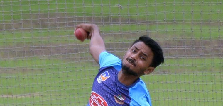 Bangladesh leg-spinner Aminul Islam Biplob