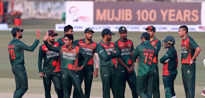 Bangladesh beat West Indies in the third ODI.