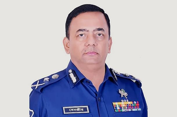 Inspector general of Police Benazir Ahmed