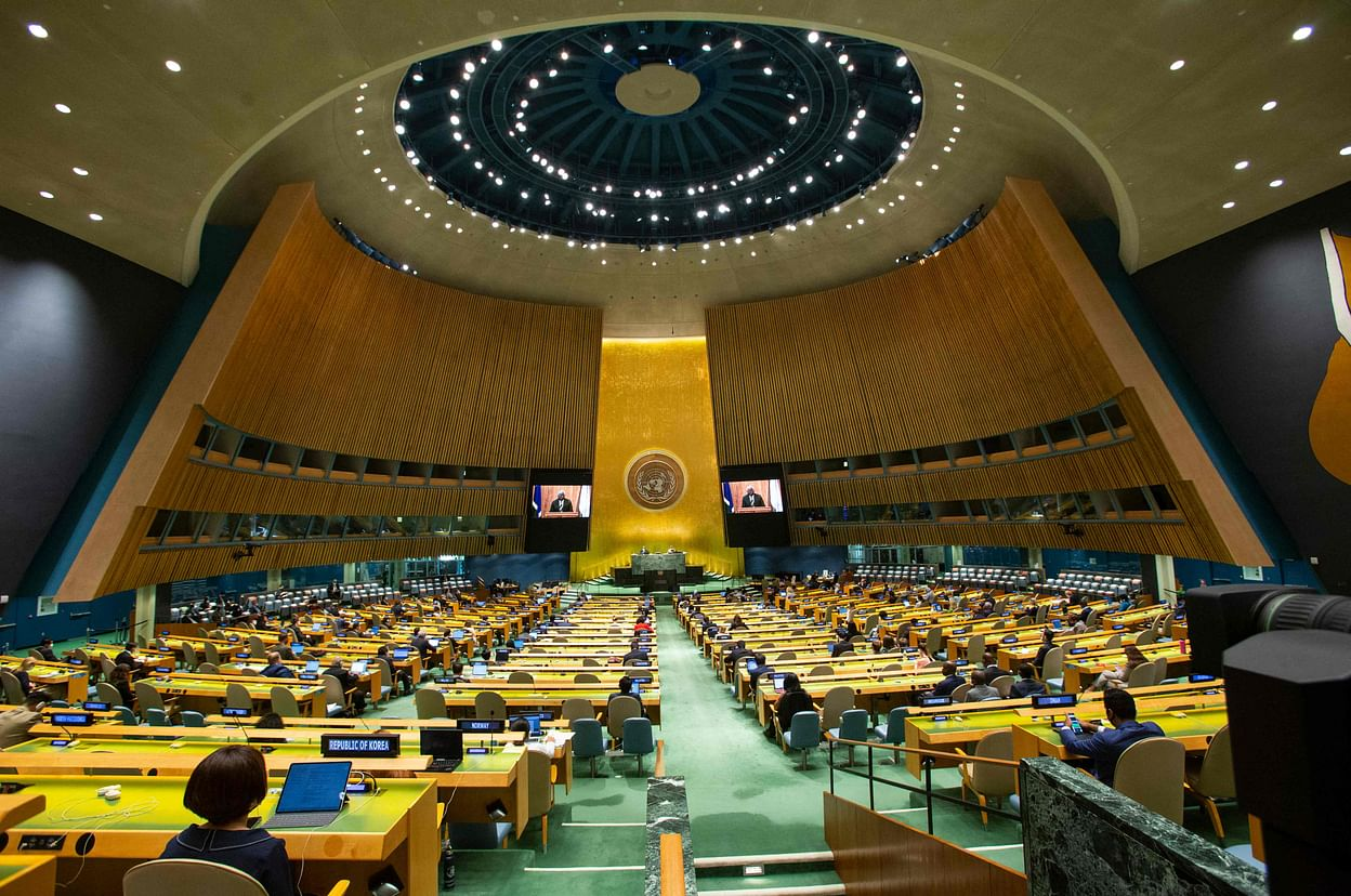 Afghan envoy cancels address on final day of UN meeting   Prothom Alo