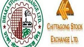 The Dhaka Stock Exchange and Chittagong Stock Exchange experienced a downtrend in the share price index.