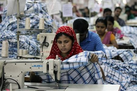 Readymade garment (RMG) workers