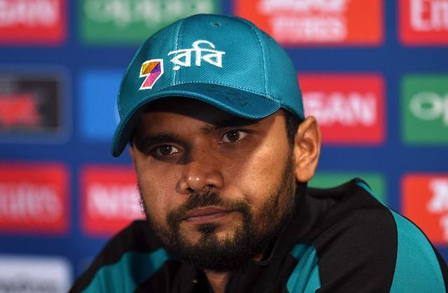 Bangladesh former captain Mashrafe Bin Mortaza