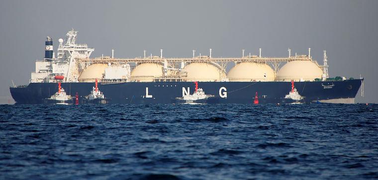 A LNG tanker