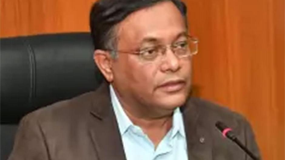 Information minister Hasan Mahmud.