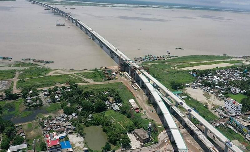 Plan to complete Padma bridge by April next year | Prothom Alo